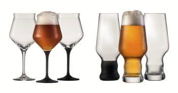 Kenner genießen Craft-Biere am liebsten in feinen Gläsern, die die besonderen Nuancen des handwerklich hergestellten Getränks betonen. Foto: djd/Glashütte V. Eisch